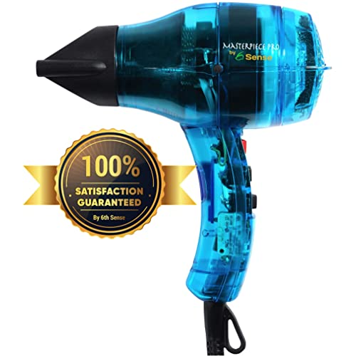 Professional Ionic Hair Dryer Handcrafted in France for Europes Finest Salons, Featherweight, Dual Ion