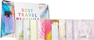 PINROSE Best Travel Perfume Ever! - Women's Eau de Parfum Fragrance Towelettes - Stay Fresh on the Go Travel Size Set - 20 Perfume Wipes