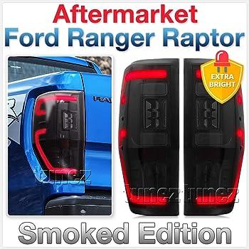 Tunez Feux arri/ère LED s/équentiels fum/és pour camion Ranger Wildtrak T6 MK1 MK2 MK3