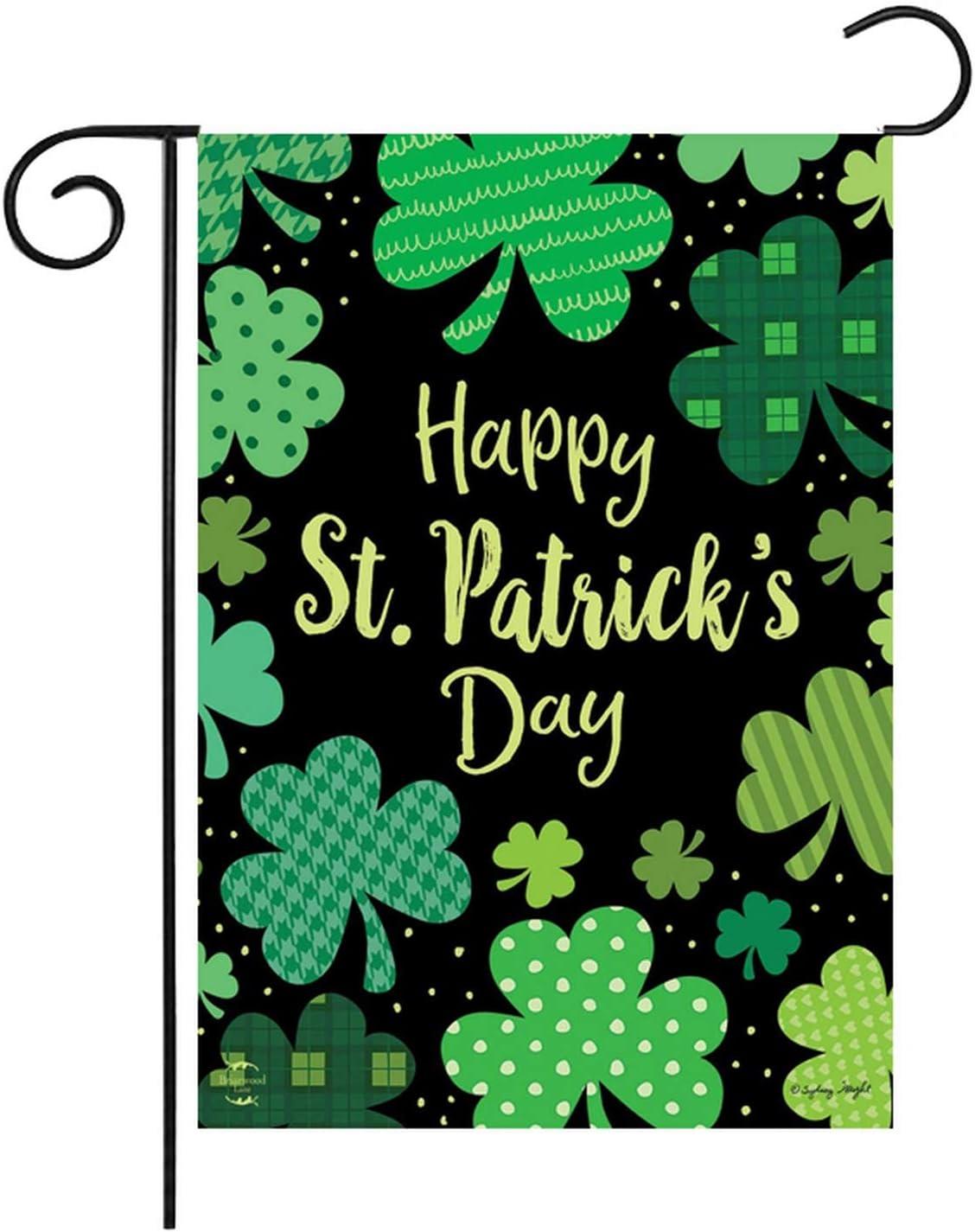 St. Patrick's Day Garden Flag 12