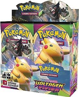 Booster Box Voltagem Vívida Espada Escudo 4 Pokémon
