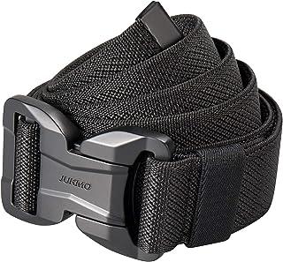 JUKMO Cinturón táctico magnético, cinturón militar de nailon de 3,8 cm con hebilla de liberación rápida resistente