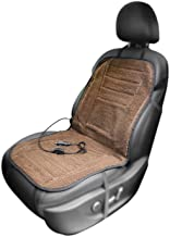 AFTERPARTZ 12V H-W45 Heated Front Seat Cushion - Coffee