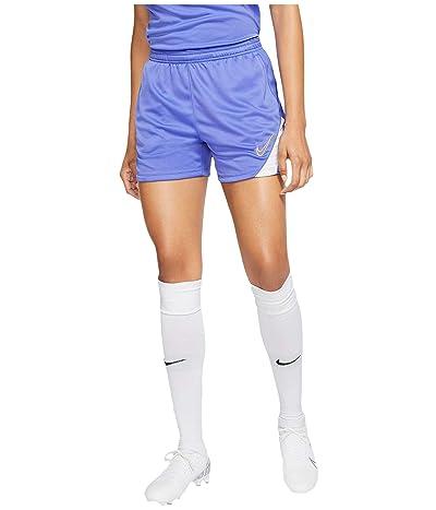 Nike Dry Academy Shorts (Sapphire/White/Topaz Gold) Women