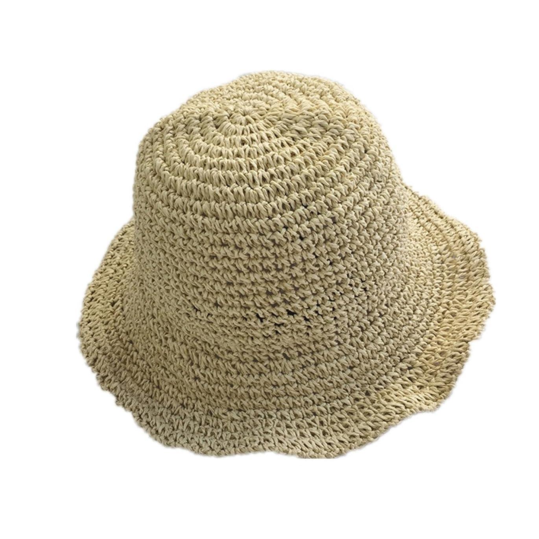 六分儀鉱石過半数(ドウゲイ)TongYi レディース 女性用 UVカット帽子 遮光ハット ネックカバー コットン100% サイズ調節 つば広 uvカット帽子 春夏 レディース 自転車 旅行 (ベージュ)