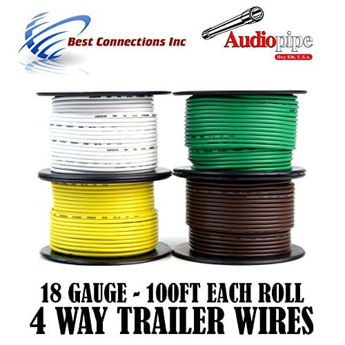 Superb Trailer Light Wire Amazon Com Wiring Cloud Hisonuggs Outletorg