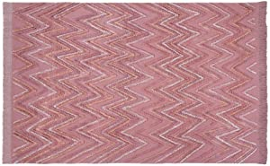 Lorena Canals Tappeto Lavabile Earth Canyon Rose 100% Cotone -Rose- 170x240 cm