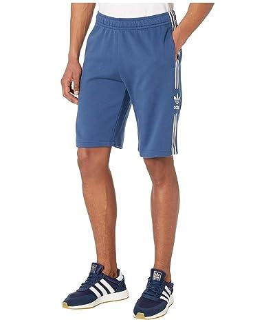 adidas Originals Lock-Up Logo Long Shorts (Night Marine) Men