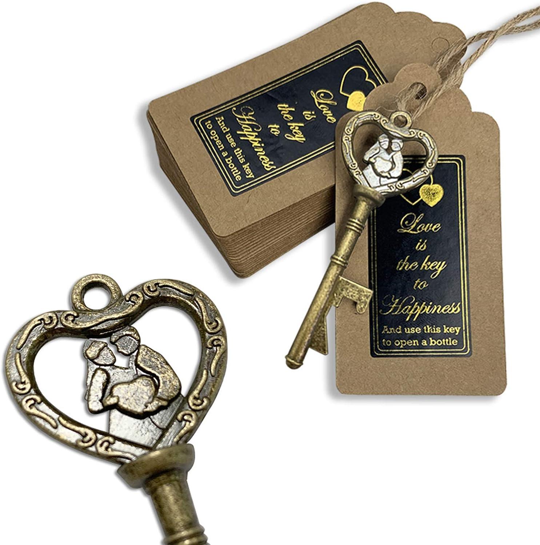 Key Bottle Openers 120 packs- セール価格 with the Card Love メイルオーダー Escort is Tag
