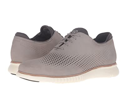 Cole Haan 2.Zerogrand Laser Wing Oxford (Ironstone Nubuck/Ivory) Men