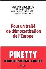 Pour un traité de démocratisation de l'Europe (Sciences humaines (H.C.)) Format Kindle