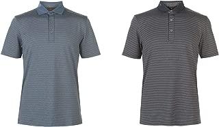 Oscar Jacobson Chester Golf Polo Shirt Mens Activewear Collar Top Blue Medium
