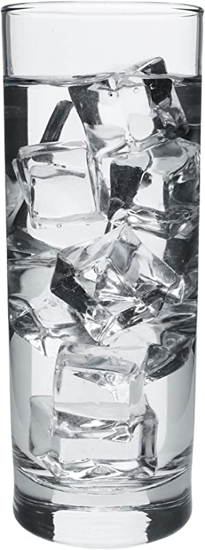 Everyday Water Drinking Cooler Glasses 12 25 Ounces Set Of 6