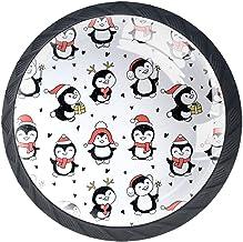 Lade Knoppen Ronde Kast Handgrepen Pull voor Thuiskantoor Keuken Dressoir Garderobe Decoreren, Wirh Penguins Origineel