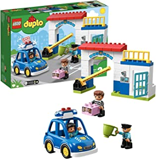 レゴ(LEGO) デュプロ 光る! 鳴る! ポリスカーとポリスステーション 10902 知育玩具 ブロック おもちゃ 男の子