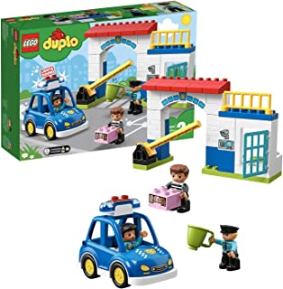 Lego Duplo Town Police Station Toy , For 2 Years And Above - 10902 - Multicolored