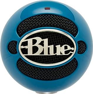 Blue Snowball USB Microphone (Electric Blue)