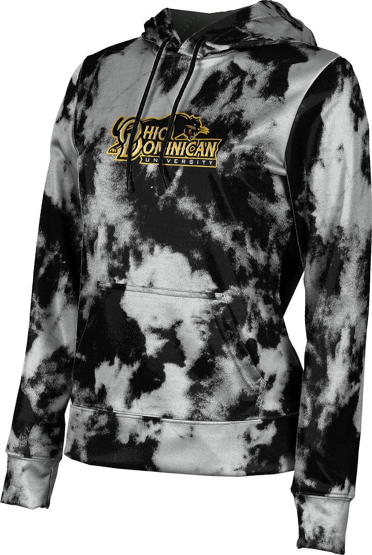 ProSphere Ohio Dominican University Girls' Pullover Hoodie, School Spirit Sweatshirt (Grunge)