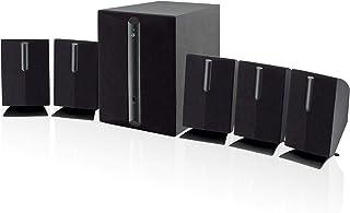 GPX HT050B 5.1 Channel Home Theater Speaker System (Black) (Renewed)