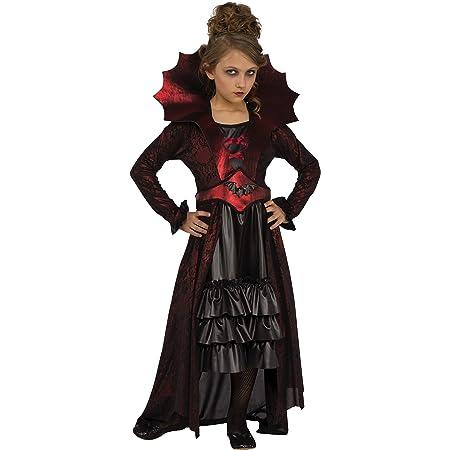 Rubie's Girl's Victorian Vampire Costume, Medium, Multicolor