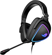 ASUS ROG Delta S Gaming Headset with USB-C   Ai Powered Noise-Canceling Microphone   Over-Ear Headphones for PC, Mac, Nint...