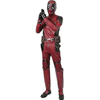Deadpool 2 Wade Cosplay Costume Jumpsuit Superher Comic Con Men Outfit  Props