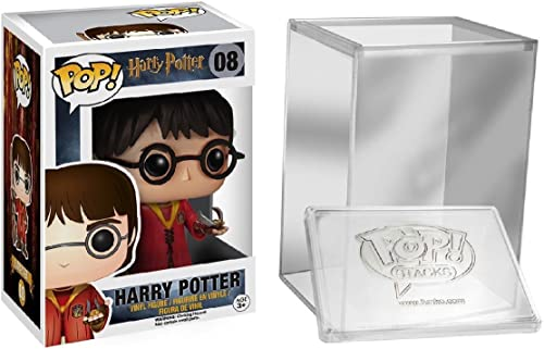 Funko Pop  Movies  Harry Potter - Quidditch Harry Potter + FUNKO PROTECTIVE CASE