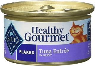 Blue Buffalo Healthy Gourmet Cat Food Variety Pack - 12 cans, 3 Flavors (Salmon, Ocean Fish & Tuna, and Tuna)