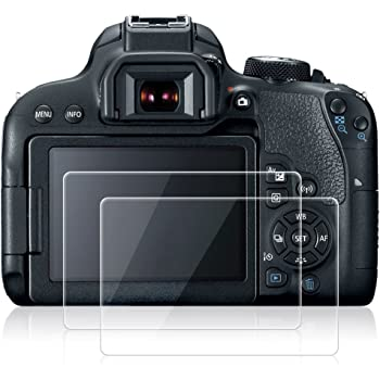 5x Pellicola protettiva per Canon EOS 2000d Display Pellicola Protettiva Display Opaca