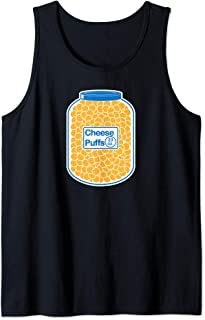Cheese Puffs Workout T Shirt lifting Tee Cheese ball Funny Tank Top