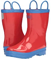 Hatley Kids - Red & Blue Rain Boots (Toddler/Little Kid)