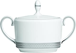Wedgwood 5C113301037 Vera Modern Sugar Bowl, 4 in in, White