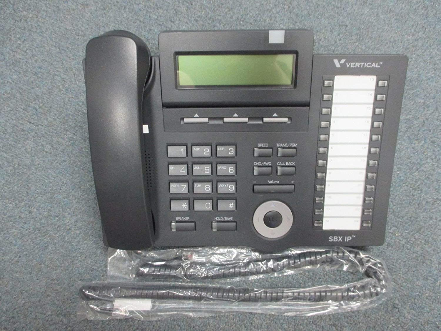Vertical 24 Button LCD Tampa Max 62% OFF Mall Telephone 4024-00 Renewed -