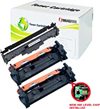 INK4WORK 3 Pack CF217A 17A & CF219A 19A Compatible Toner Cartridge & Drum Replacement for HP Laserjet Pro M102a M102w M130a M130fn M130fw M130nw