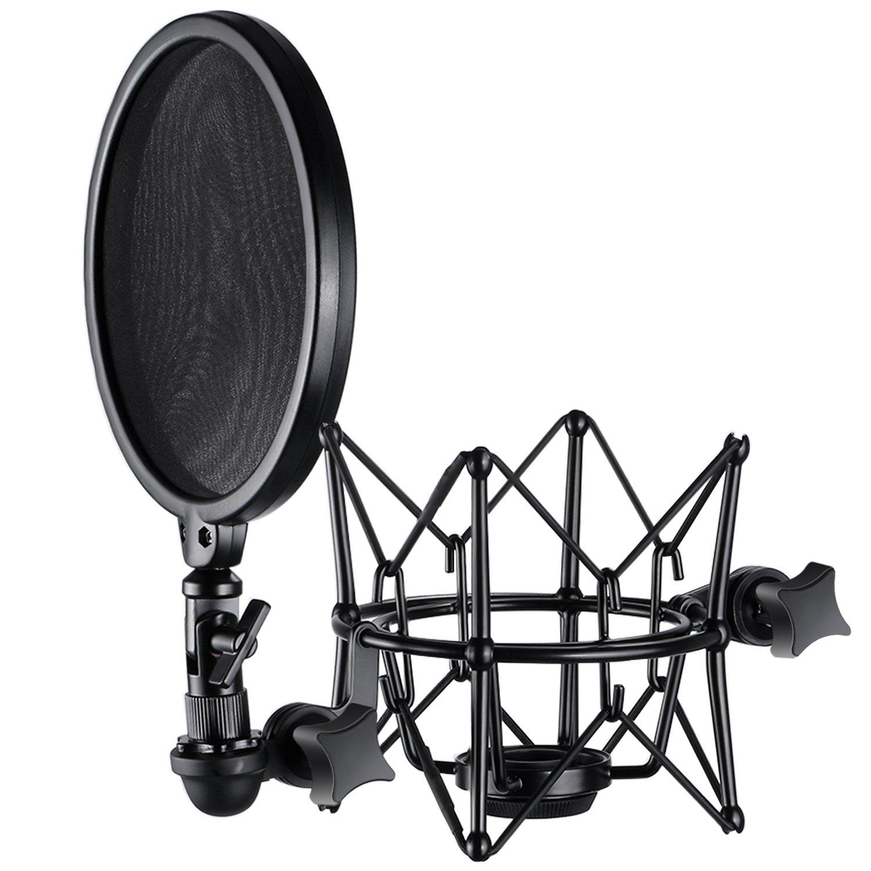 Neewer Detachable Windscreen Microphone Broadcasting