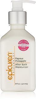 Epicuren Discovery Papaya Pineapple After Bath Body Moisturizer, 8 Fl oz