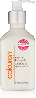 Epicuren After Bath Moisturizer - Papaya Pineapple 250ml/8oz