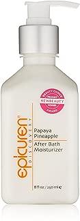 Epicuren After Bath Moisturizer - Papaya Pineapple 250ml/8oz