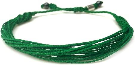 RUMI SUMAQ Custom Sized Green Awareness Bracelet for Depression Mental Health Awareness Liver Gallbladder Bile Duct Cancer Cerebral Palsy Adjustable Awareness Jewelry for Men Women and Kids