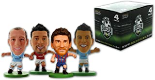 SoccerStarz 4 Figurine Blister Pack of Argentina International Stars in Club Kits Featuring Messi/ Garay/ Zabaleta and Aguero