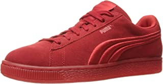 Men's Suede Classic Badge Iced Fashion Sneaker