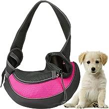 GPCT Pet Puppy Carrier Sling Hands-Free Shoulder Travel Bag. Great for Walking Your Pet. Dog Cat Pet Puppy Outdoor Reversible Pouch Mesh Shoulder Carry Bag Tote Handbag Carrier