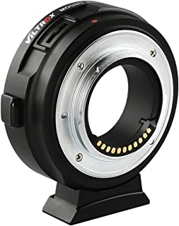 VILTROX EF-M1 Electronic Aperture Auto-Focus AF Lens Mount Adapter Automatic Converter for Canon EOS EF Lens to Panasonic ...