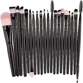 20 pcs Makeup Brush Set tools Make-up Toiletry Kit Wool Make Up Brush Set,F,United States