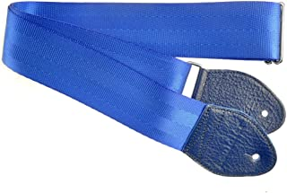 Souldier Custom GS0000BL04BL Recycled Seatbelt Electric Guitar Strap, Blue