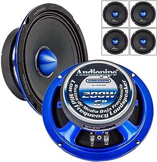 "$130 » 2 Pair Audiopipe APMB-628PM 6"" Slim Mid Full Range Loud Car Audio Speaker Bullet 4 Ohm 800W"