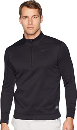 check out 4ee07 b8065 Nike pro long sleeve half zip obsidian volt   Shipped Free at Zappos