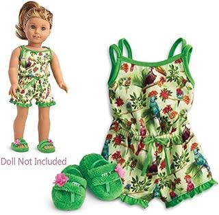 American Girl Lea's Rainforest Dreams Pajamas for 18