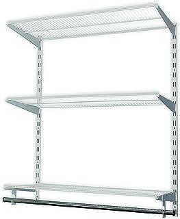 Element System 11356-00010 Happy DIY Système d'étagère idéale pour Buanderie/Dressing/Garde-robe Blanc