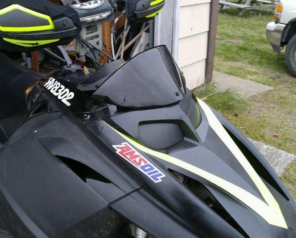 213 Parts 1a Price reduction – Gloss Shipping included Low Black Rev Ski-Doo Windshield